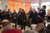 Vidéoconférence avec Barcelone en présence des élus de la vile de muret